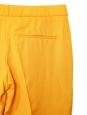 Pantalon à pinces taille basse jaune ambre NEUF Px boutique 450€ Taille 36