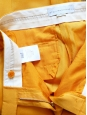 Amber yellow low waist tailored pants NEW Retail price €450 Size 36