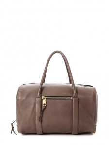 CHLOE Sac à main duffle bag MADELEINE en cuir marron noisette Prix boutique 1500€
