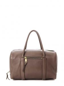 CHLOE Sac à main duffle bag MADELEINE en cuir marron noisette Prix boutique 1500€