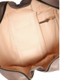 Light nut brown smooth leather MADELEINE duffle bag Retail price $1800