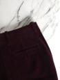 BOSS Pantalon évasé en velours côtelé bordeaux prune Prix boutique 300€ Taille 36