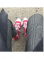 Baskets montantes Chuck Taylor Classic All Star en toile rouge vif Taille 37