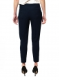 CHLOE Navy blue crepe de chine slim fit tailored pants NEW Retail price €480 Size 34
