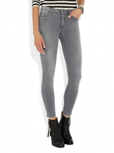 Jean slim SKIN 5 INOX gris Prix boutique 210€ Taille XS