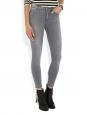 SKIN 5 INOX Grey skinny jeans Retail price €210 Size XS