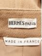 Jupe crayon taille haute en laine camel Prix boutique 1000€ Taille 36