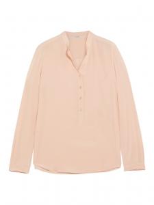 STELLA MCCARTNEY Blouse EVA manche longues en soie rose poudre Prix boutique 525€ Taille 34