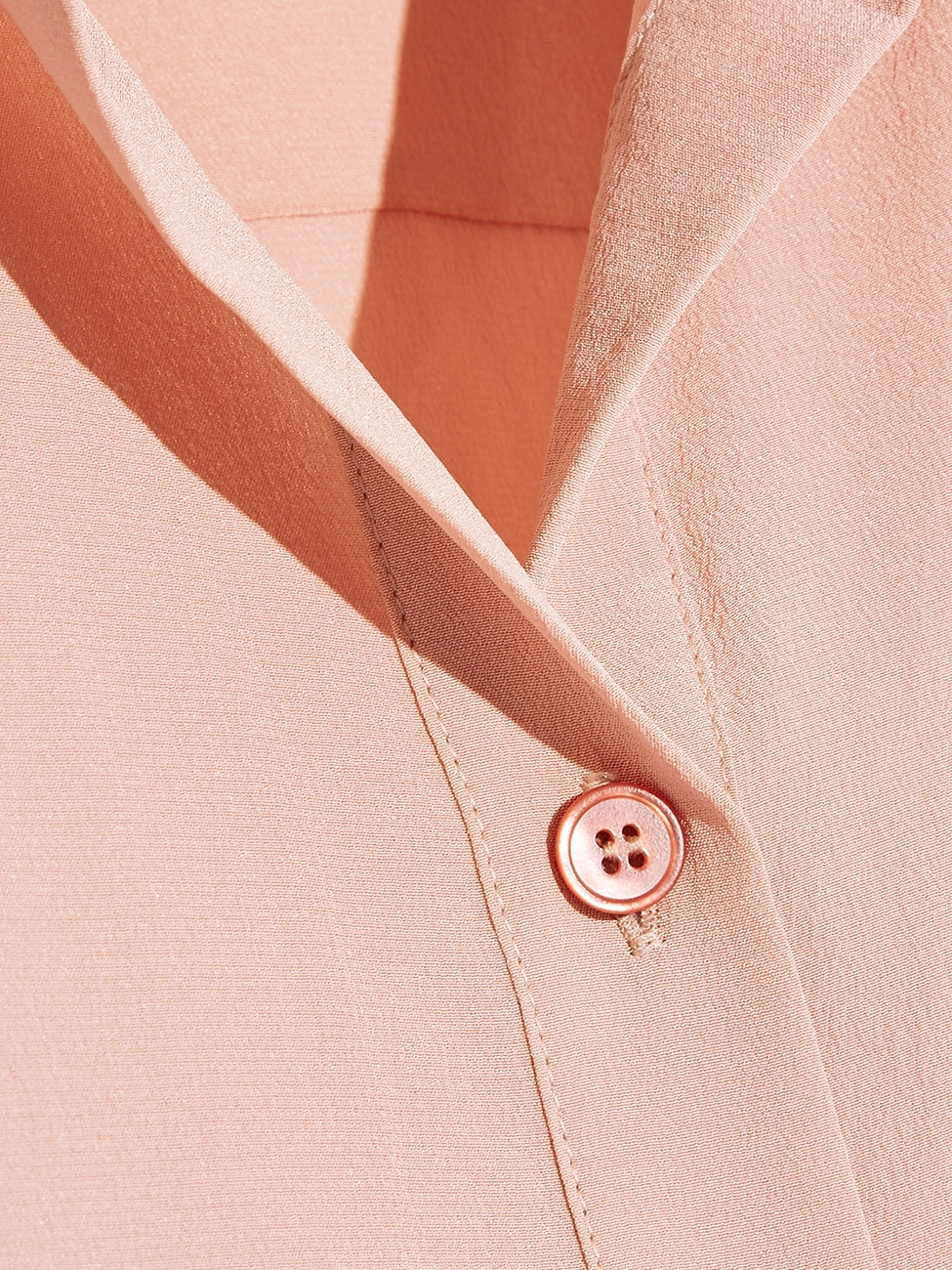 c65e859761f17a ... STELLA MCCARTNEY EVA powder pink silk crepe de chine long sleeve blouse  Retail price €525