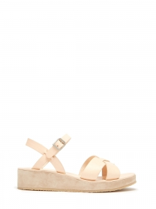 APC Natural leather and suede wedge sandals NEW Retail price €290 Size 39
