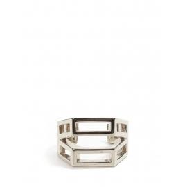 Bracelet manchette BIANCA en laiton argent Prix boutique 420€ Taille S/M