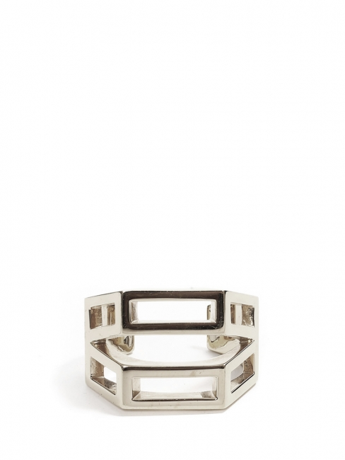 BIANCA Silver brass cuff bracelet Retail price €420 Size S/M