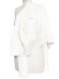 BOSS HUGO BOSS Ivory white jersey cropped blazer jacket NEW Retail price €300 Size 36