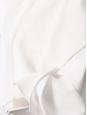 White ruffled hem crepe skirt Retail price €560 Size 38
