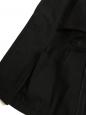 STELLA MCCARTNEY Veste blazer cintrée et ajustée en crêpe noir Prix boutique 900€ Taille 38