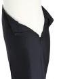 Jupe fendue à l'avant en soie noire Px boutique 650€ Taille 36