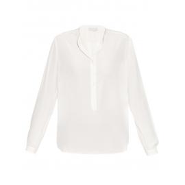 Blouse EVA manche longues en soie blanc ivoire Prix boutique 525€ NEUVE Taille 36