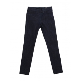 SKIN RINSE dark blue skinny jeans with back zip Retail price $265 Size 27/32