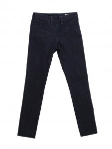 ACNE STUDIOS SKIN RINSE dark blue skinny jeans with back zip Retail price $265 Size 27/32