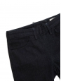 ACNE STUDIOS SKIN RINSE dark blue skinny jeans with back zip Retail price $265 Size 27/32
