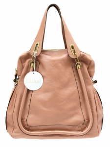 Sac Paraty large en cuir beige rosé Collection Hiver 2011 Px boutique 1400€