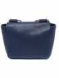 CHLOE Small navy blue leather ELSIE cross body bag with gold chain Retail price €1000