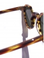 HERI Tortoiseshell brown frame sunglasses with dark grey mineral lenses