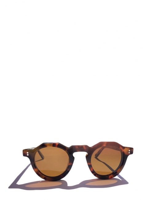PICA tortoiseshell brown frame luxury sunglasses with mineral lenses Retail price €350 NEW