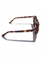 PICA caramel brown frame luxury sunglasses with mineral lenses Retail price €350 NEW