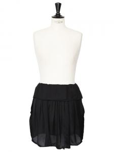Jupe fluide taille basse noire Px boutique environ 290€ Taille 36