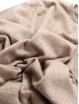 Beige cashmere round neck sweater Retail price €500 NEW Size 38 to40