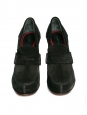 Fall 2010 black suede oxford loafer pumps Retail price 600€ Size 35.5