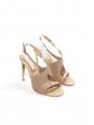 Sandales à talon nude Px boutique 600€ Taille 40