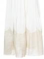 Robe de mariée ou cocktail en crêpe de soie plissé blanc ivoire Px boutique 2000€ Taille 36/38