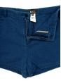 Mini short en jean bleu fin tressé Px boutique 100€ Taille 36