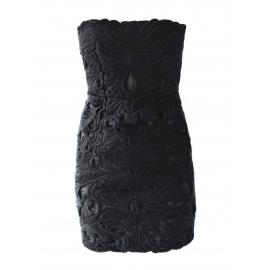 Robe bustier Couture noire Px boutique 2360€ Taille XS