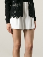 CHLOE High waist white pleated crepe shorts Retail price €490 Size 34