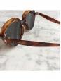 CELINE AVA Brown tortoiseshell dark havana round sunglasses CL 41448S Retail price €360
