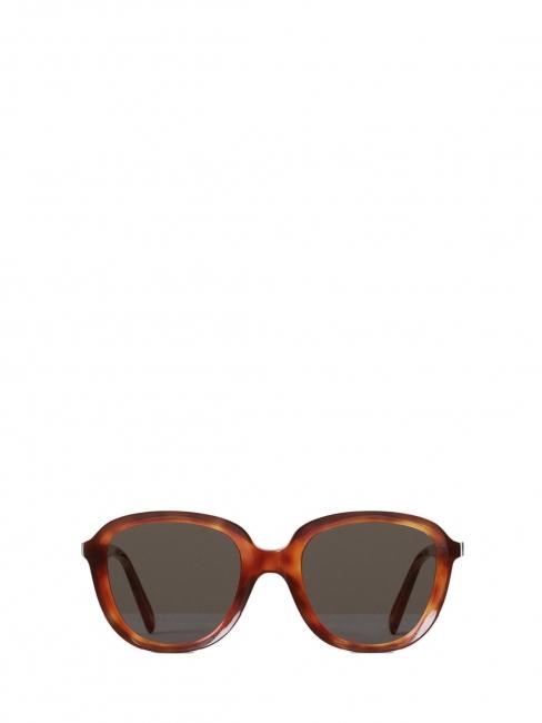 AVA Brown tortoiseshell dark havana round sunglasses CL 41448S Retail price €360