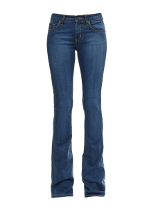 Blue stretch denim flared jeans Retail price €220 Size XS