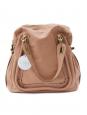 Sac Paraty large en cuir beige rosé Collection Hiver 2011 Px boutique 1400€