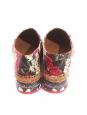Flower printed brocade platform espadrilles NEW Retail price €639 Size 35