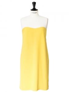 Robe bustier jaune soleil Px boutique 350€ Taille XS