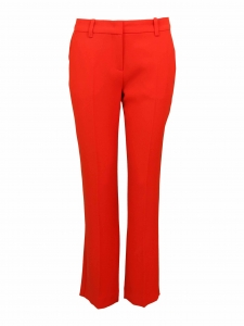Bright red slim fit tailored pants Retail price €229 Size XS