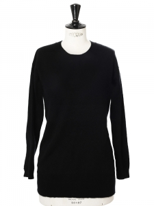 Fine cashmere wool round neck sweater Retail price €270 Size 40