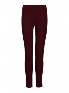 Legging en gabardine stretch rouge bordeaux Prix boutique 215€ Taille 34