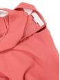 Robe évasée sans manches en jersey rose chèvrefeuille Px boutique 600€ Taille 34