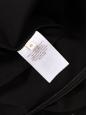 Black stretch jersey bodyconlong sleeves dress NEW Retail price €800 Size 38