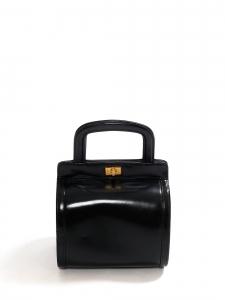 Petit sac à main en cuir noir