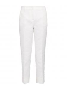 Pantalon slim fit en jacquard fleuri blanc Prix boutique 660€ Taille 36